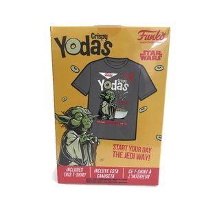 New Funko Boxed Tee Shirt Star Wars Crispy Yodas